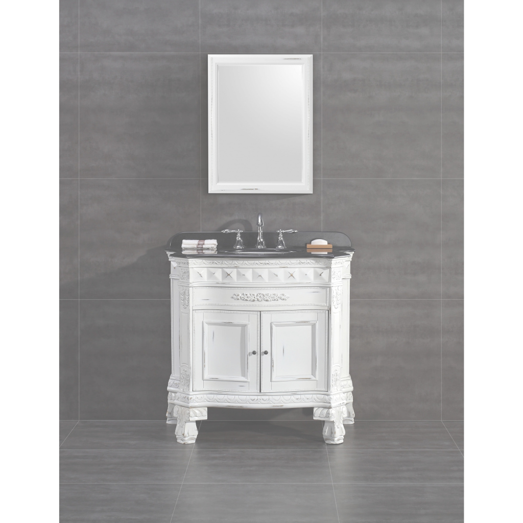 Epic Shop Ove Decors York 36-Inch Single Sink Bathroom Vanity With in Single Sink Bathroom Vanity