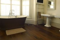 Epic Should You Install #hardwood #flooring In Your #bathroom Or Not regarding Flooring For Bathrooms