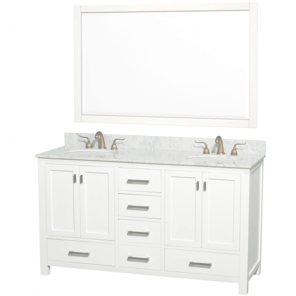 Epic Shrewd 65 Inch Bathroom Vanity Launching Double Sink Ideas In Fresh 65 Inch Bathroom Vanity
