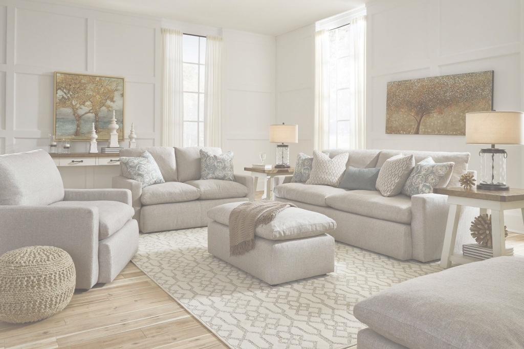 Epic Signature Designashley Melilla Beige Living Room Set - Melilla intended for Elegant Beige Living Room Set