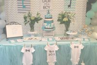 Epic Simpley Shower Decorating Ideas For Boy Table Decoration Designed for High Quality Baby Shower Decoration