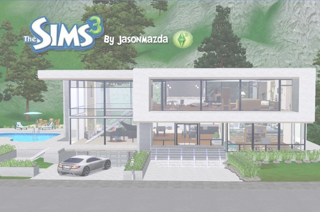 Epic Sims House Designs Modern Unity Youtube - Building Plans Online | #72643 inside High Quality Sims House Plans