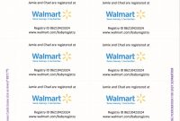 Epic Since Walmart Now Requires You To Pay For Registry Inserts (And I with Walmart Gift Registry Baby Shower