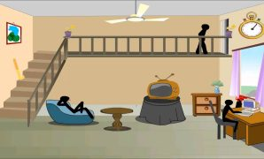 Epic Stick Death Level 1 - Living Room Walkthrough - Youtube regarding Elegant Stickman Death Living Room