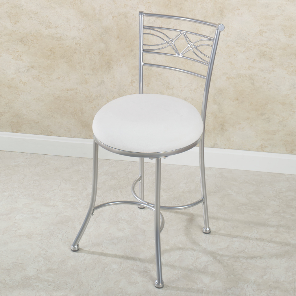 Epic Tall Vanity Stool Image Of Bathroom Chairs 20 High Frivgame Co With throughout Beautiful Vanity Chair For Bathroom