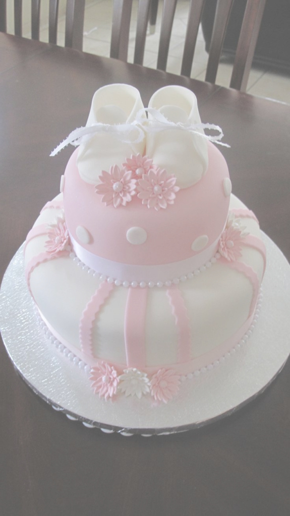 Epic Terrific Girl Baby Shower Cake Ideas Super 595 Best Cakes Girls throughout Lovely Baby Girl Shower Cake Ideas