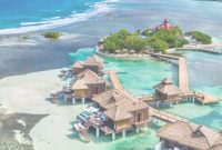 Epic The Best Overwater Bungalow Resorts In The Caribbean (Yes, They Exist!) with regard to Sandals Over The Water Bungalows