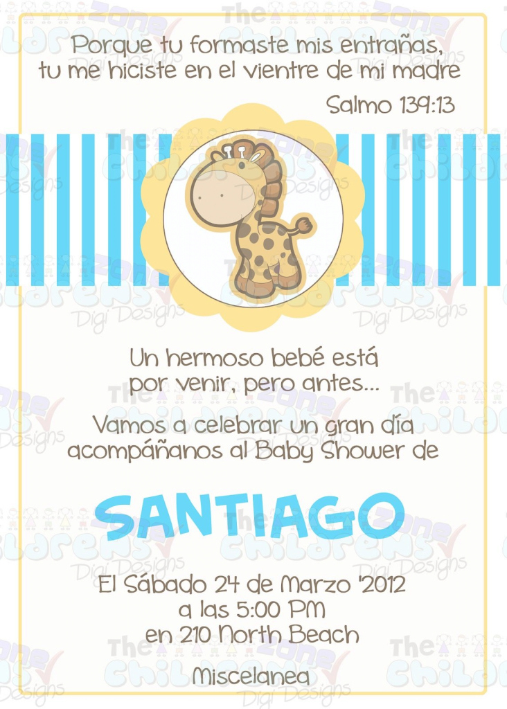 Epic The Childrens Zone Digi Designs: Invitaciones Para Baby Shower regarding Invitaciones De Baby Shower Para Niño