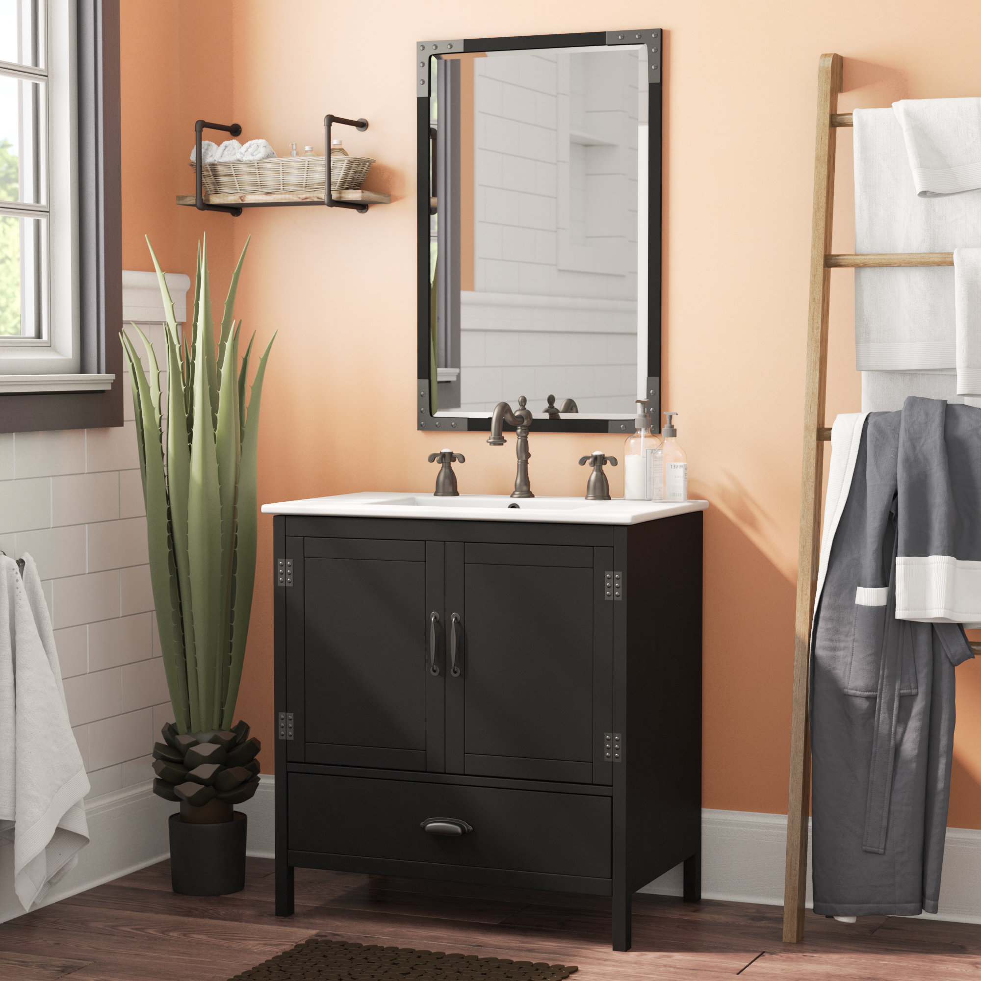 "Epic Trent Austin Design Cindi 30"" Single Bathroom Vanity Set & Reviews in Bathroom Vanity Table"