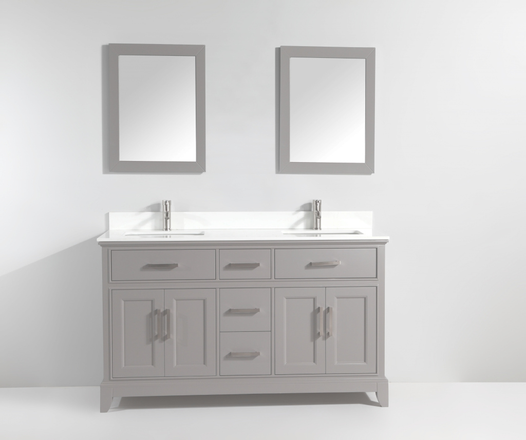 "Epic Vanity Art 72"" Double Bathroom Vanity Set With Mirror & Reviews intended for Awesome Bathroom Vanities Sacramento"