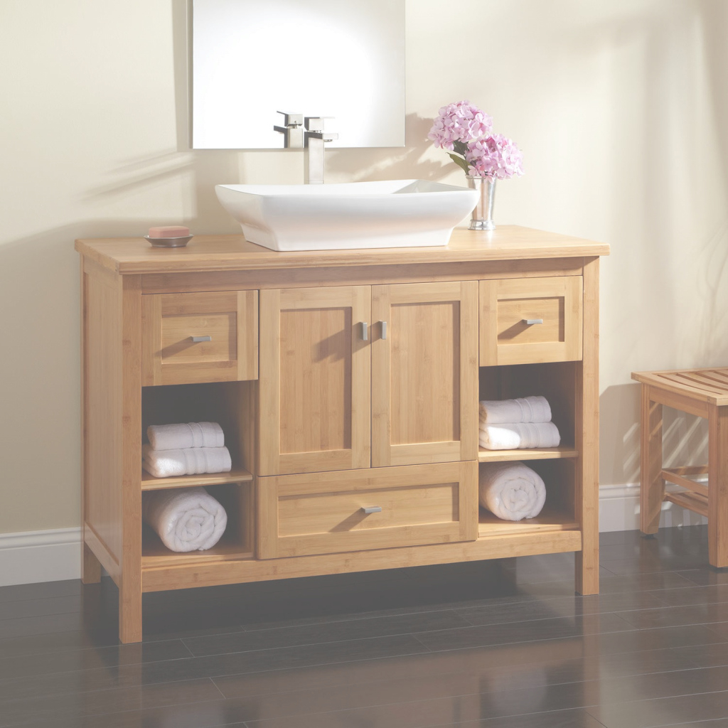 Epic Vanity For Vessel Sink Stylish Luxurious Bathroom With F98X On for Best of Bathroom Vanity With Vessel Sink