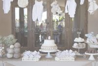Epic Vintage Lamb Themed Neutral Baby Shower | Jennifer Jones Photography regarding High Quality Baby Shower Decoration