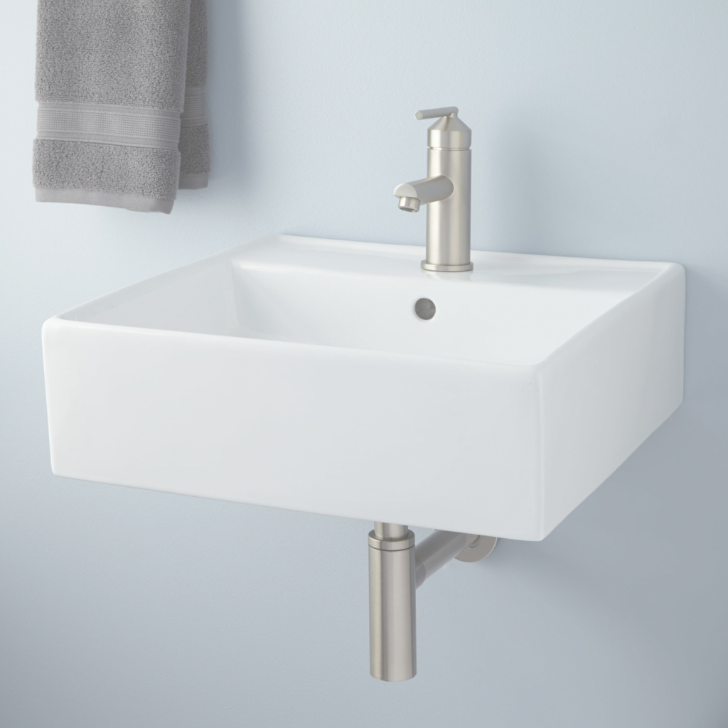 Epic Wall Mount Bathroom Sink Small — Debuskphoto Bathroom Design : Find throughout Unique Wall Mount Bathroom Sink