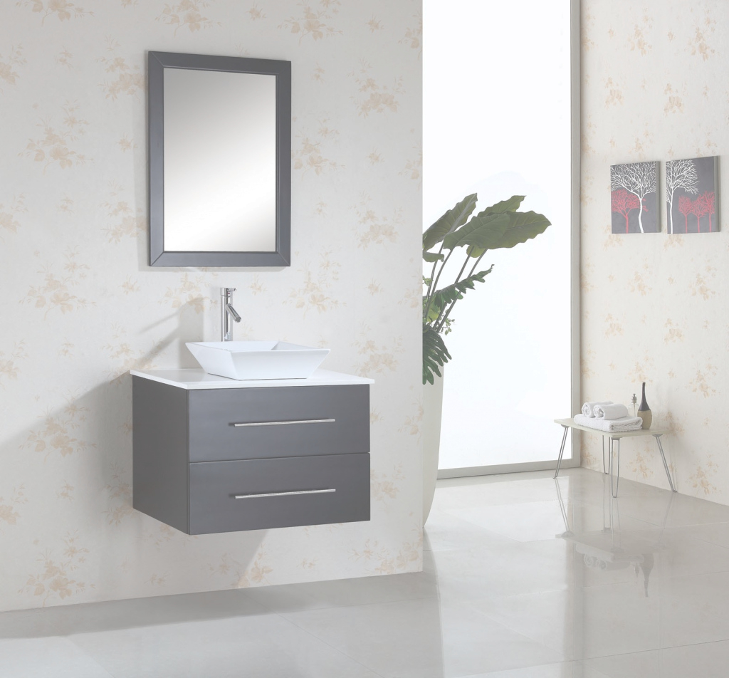 Epic Wall Mounted Single Sink Bathroom Vanities On Sale in Wall Mount Bathroom Vanity