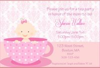 Epic What Is A Baby Shower Luxury Girl Baby Shower Invitation Templates inside Luxury What's A Baby Shower