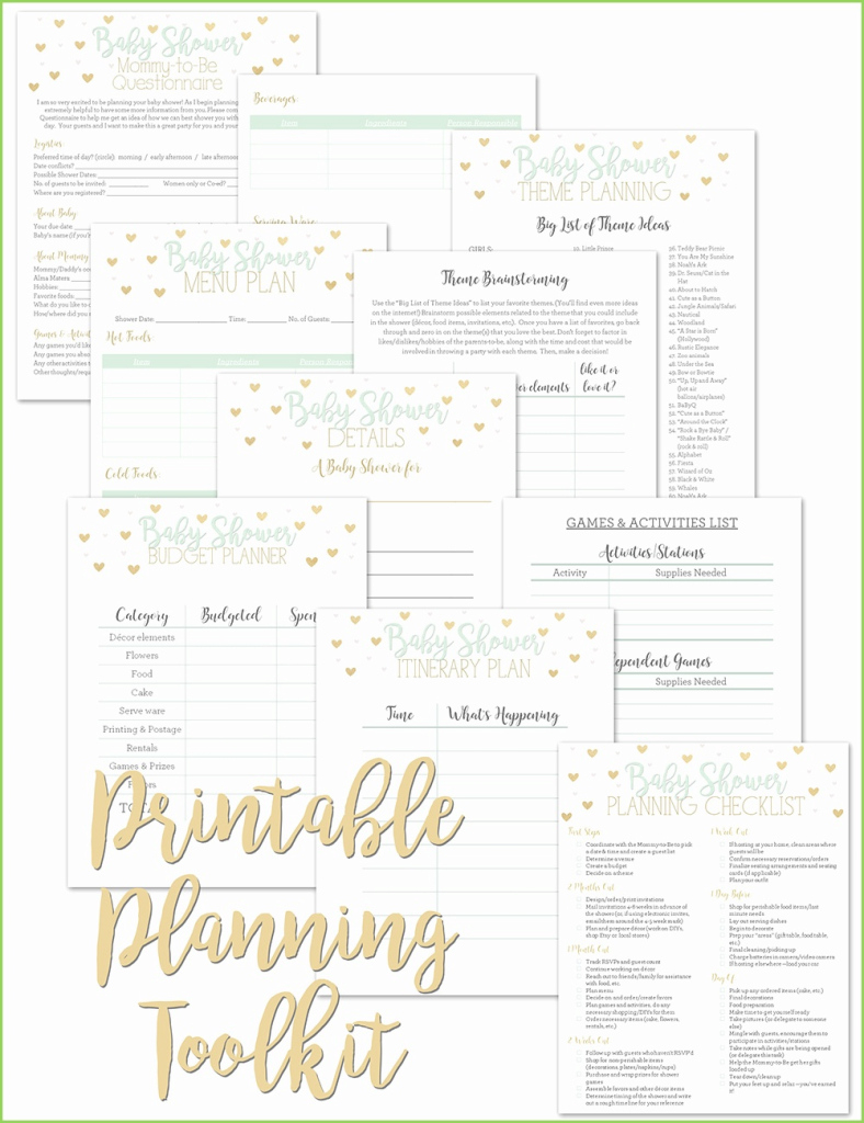 Epic Who Plans A Baby Shower Pleasant 7 Baby Shower Planning Checklist intended for Elegant Who Plans A Baby Shower