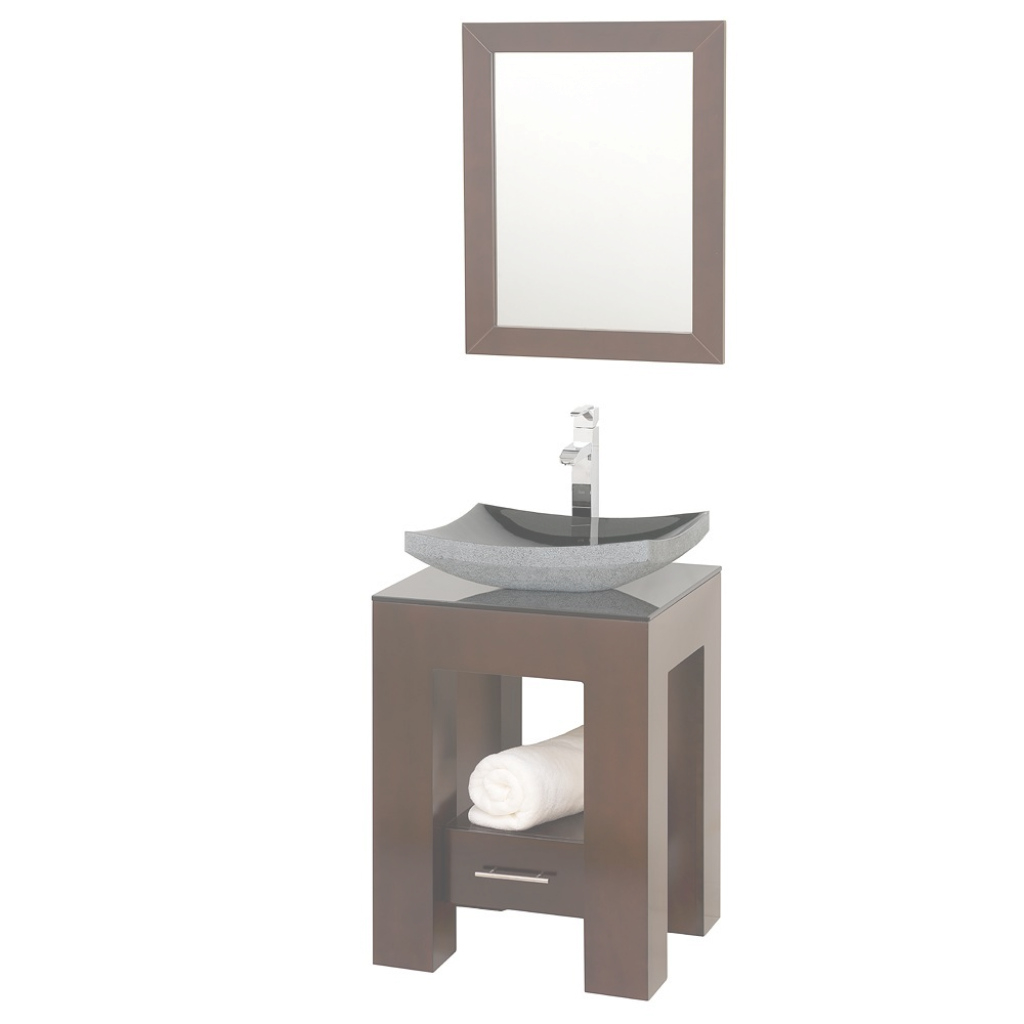 "Epic Wyndham Collection Amanda 22"" Bathroom Vanity Espresso Finish within Unique Small Bathroom Vanity With Sink"