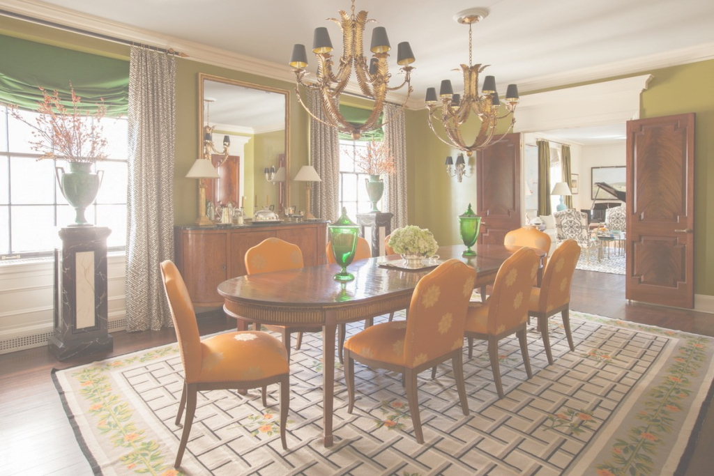Fabulous 19 Tasteful Dining Rooms | The Study intended for Awesome Orange Dining Room