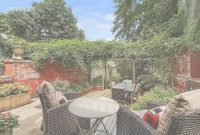 Fabulous $2.1M Park Slope Townhouse Has A Backyard Paradise And Expansion with Backyard Paradise