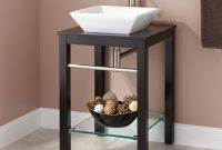 "Fabulous 22"" Cayneston Vessel Sink Console Vanity – Black – Bathroom throughout Bathroom Sink And Vanity"
