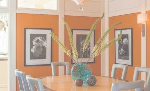 Fabulous 25 Trendy Dining Rooms With Spunky Orange | Pinterest | Dining Room pertaining to Orange Dining Room