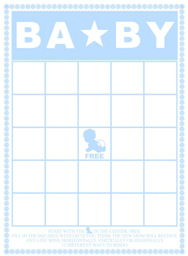 Fabulous 29 Sets Of Free Baby Shower Bingo Cards throughout High Quality Free Baby Shower Bingo