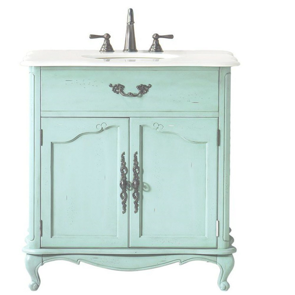 Fabulous 32-34 In. - Vanities With Tops - Bathroom Vanities - The Home Depot pertaining to Unique Home Depot Bathroom Vanities And Cabinets