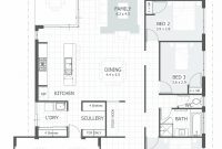 Fabulous 4 Bedroom House Plans & Home Designs | Celebration Homes within Best of House Plan Drawing