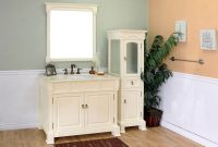 "Fabulous 42"" Helena Single Bath Vanity – Cream pertaining to 42 In Bathroom Vanity"