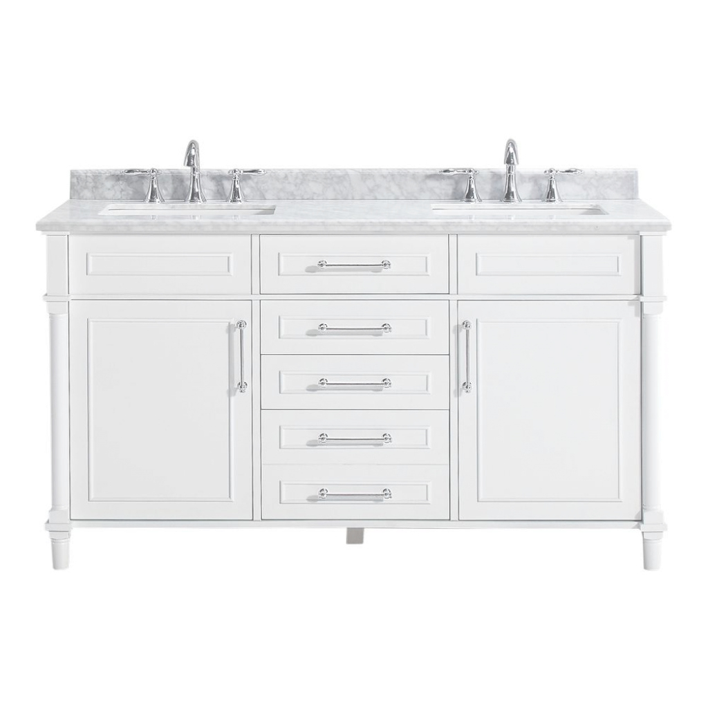 Fabulous 60 Inch Vanities - Bathroom Vanities - Bath - The Home Depot inside White Bathroom Vanity Home Depot