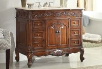 Fabulous Adelina 42 Inch Traditional Style Antique Bathroom Vanity regarding 42 Bathroom Vanity Cabinets