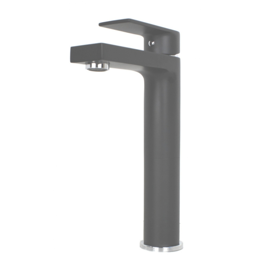 Fabulous Adrian Matte Black Bathroom Vessel Sink Single Hole Faucet throughout Black Bathroom Sink Faucet