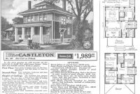 Fabulous American Foursquare House Style | Foursquare House, House And Craftsman intended for American Foursquare Floor Plans Images