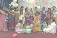 Fabulous An Indian Hindu Baby Shower Ceremony At Sanatan Mandir Cultural with regard to Review Indian Baby Shower Ideas