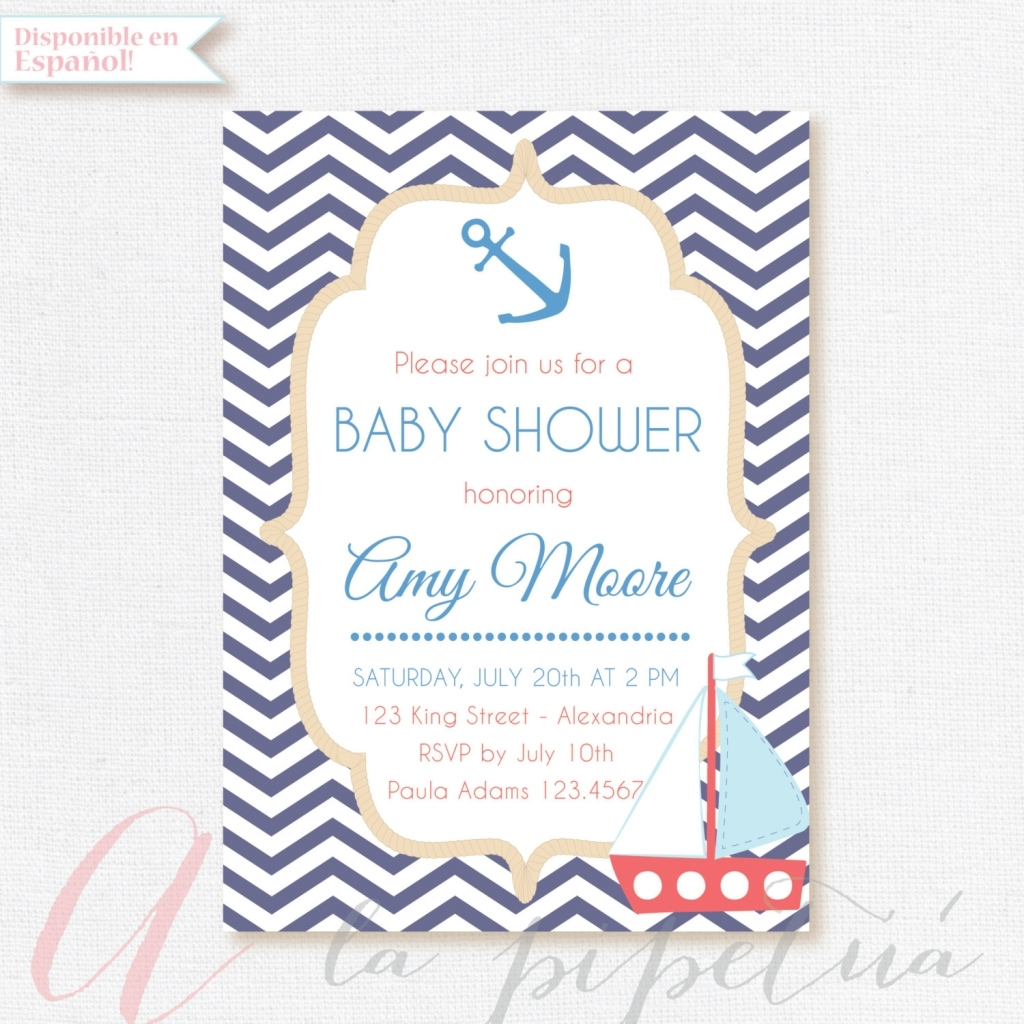 Fabulous Ba Shower Invitaciones De Ba Shower Nio Moms Angels Invitacion In inside Invitaciones De Baby Shower Para Niño