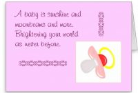 Fabulous Baby Shower Congratulations Cards Inspirational Baby Shower pertaining to Baby Shower Congratulations