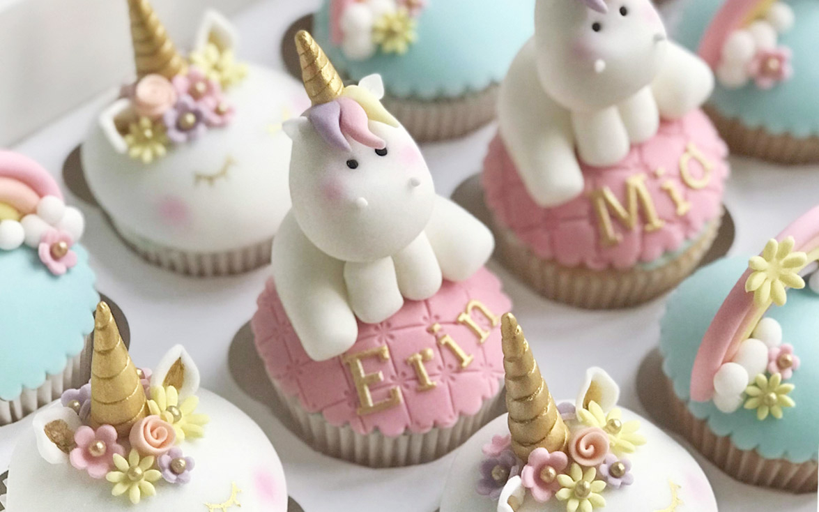 Fabulous Baby Shower Unicorn Cake Cupcake Close Up Cupcakes Birthday Cakes regarding Baby Shower Cupcakes