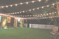 Fabulous Backyard Party Lights Elegant Backyard Lighting With Mesmerizing in Backyard Party