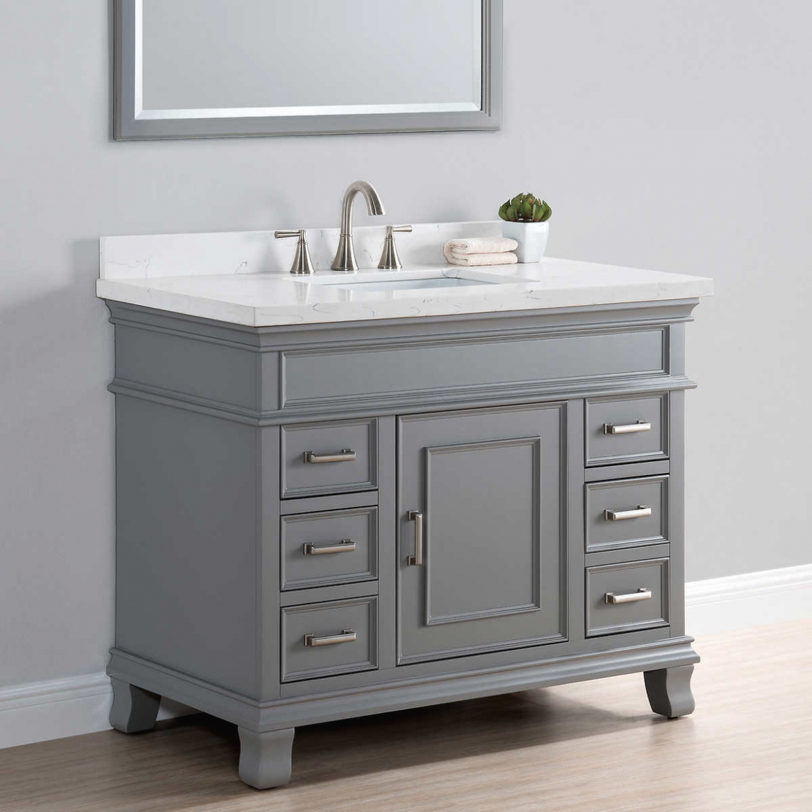 Fabulous Bath: Home Design : Fascinating 42 Bathroom Vanity Cabinets Inch with 42 Bathroom Vanity Cabinets