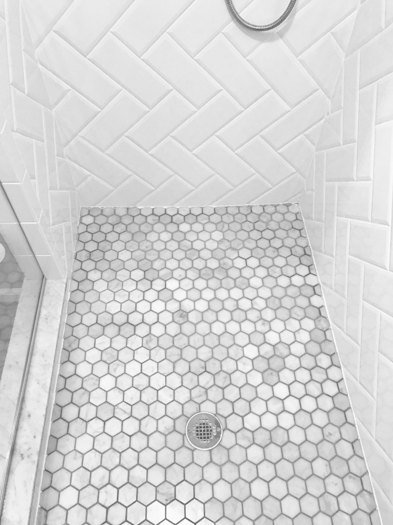 Luxury Hexagon Bathroom Floor Tiles