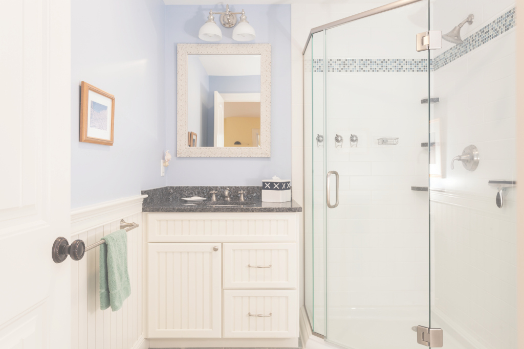 Fabulous Bathroom Renovation – Mj Nardone Building And Remodeling pertaining to Yarmouth Blue Bathroom