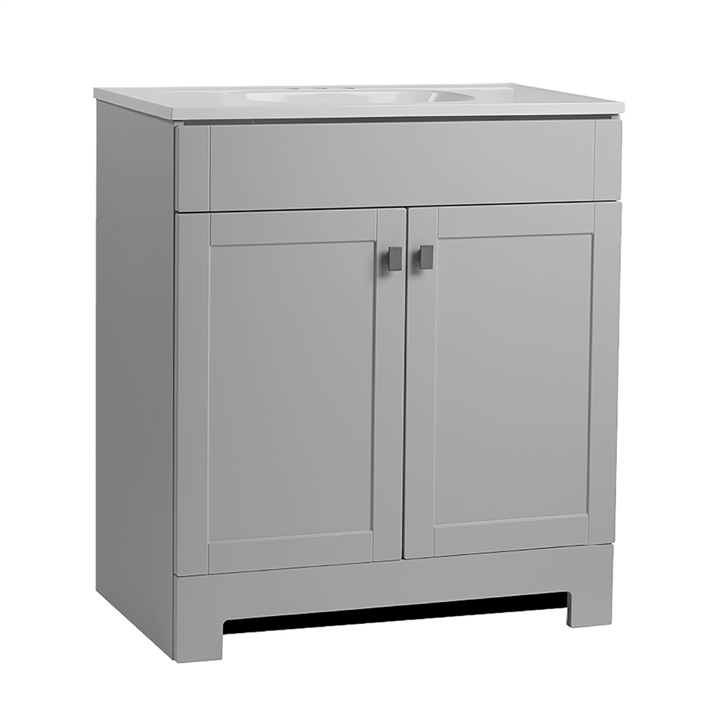 Fabulous Bathroom Vanities - Cabinets, Vanity Tops & More | Lowe's Canada intended for Bathroom Vanities Under $300