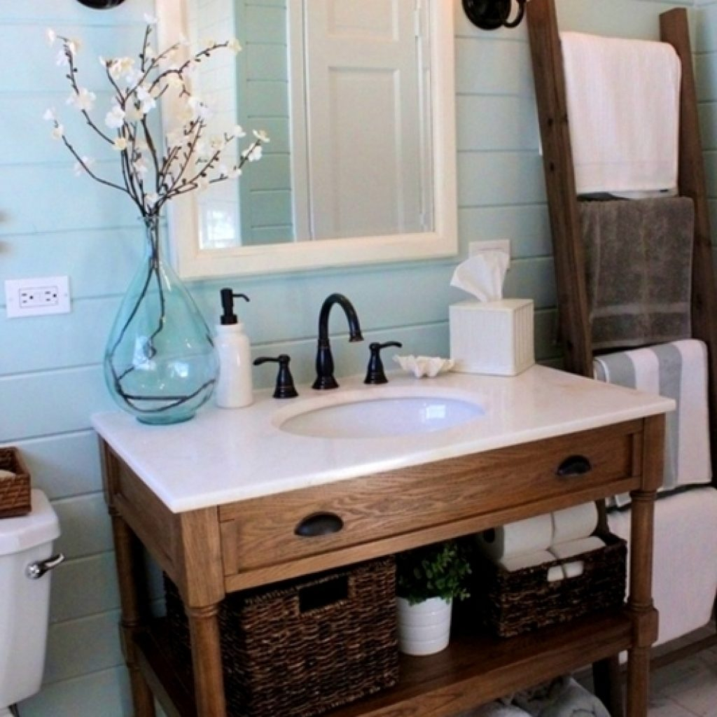 Fabulous Bathroom Vanity Farmhouse Style - Vanity Ideas with Luxury Farmhouse Style Bathroom Vanity