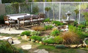 Fabulous Beautiful Garden Backyard Landscape Plus Excerpt Exteriors Lawn with regard to Inspirational Backyard Plus