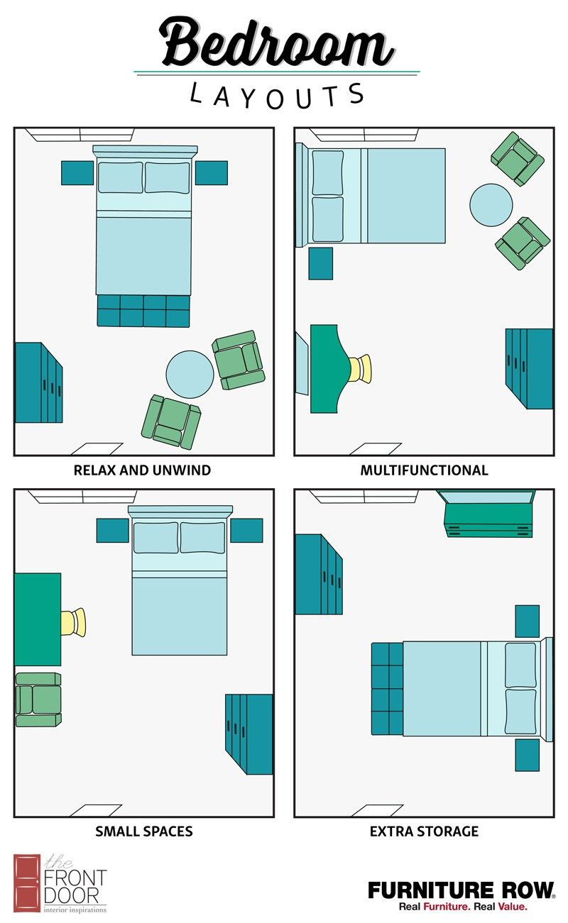 Fabulous Bedroom Layout Guide | Pinterest | Small Spaces, Layouts And Storage within How To Arrange Your Bedroom