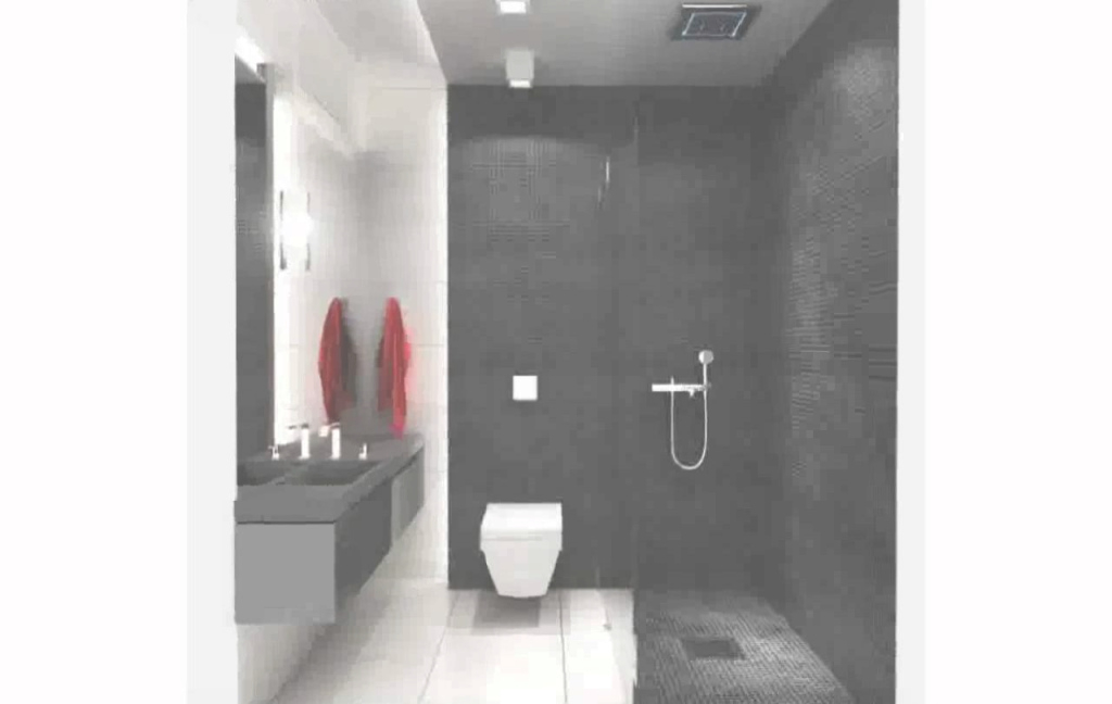 Fabulous Black And White Bathroom Tile Ideas - Youtube pertaining to Black Bathroom Ideas