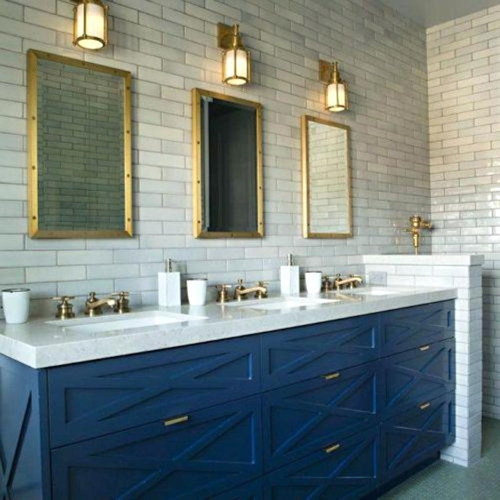 Fabulous Blue Bathroom Vanity Cabinet Espanus - Avaz International regarding Blue Bathroom Vanity Cabinet