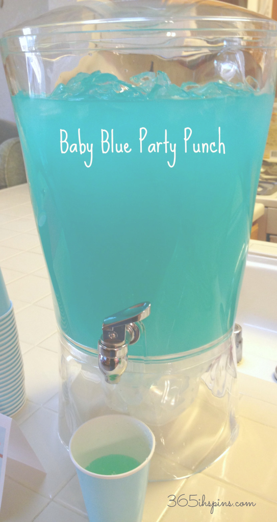 Fabulous Blue Punch For Baby Shower | Day 291: Pretty Pink Punch & Baby Blue inside Pink Baby Shower Punch