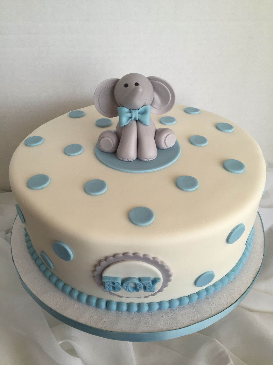 Fabulous Boy Baby Shower - Cakecentral intended for Review Baby Boy Shower Cakes