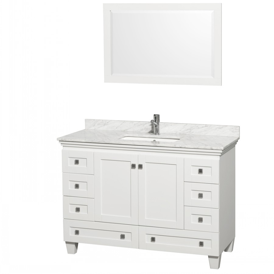 Fabulous Brilliant Light Blue Knoxville 42 Inch Vanity Mirror Gd1509Lb 42 3 throughout 42 Inch Bathroom Vanity Combo
